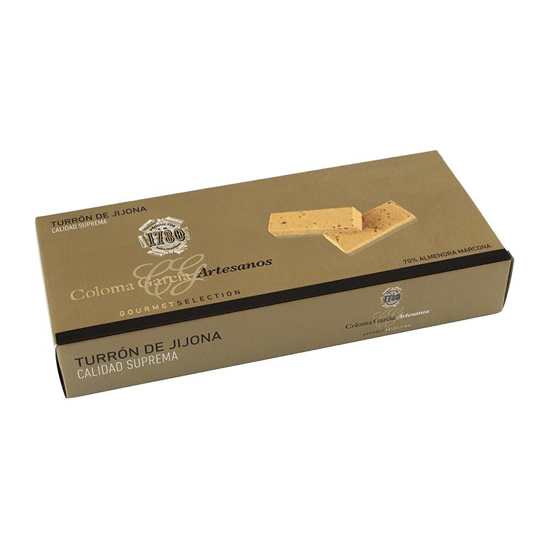 Estuche turrón Oro Jijona artesano 'Gourmet' 300g