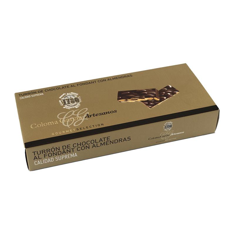 Estuche turrón Oro chocolate almendras 'Gourmet' 300g