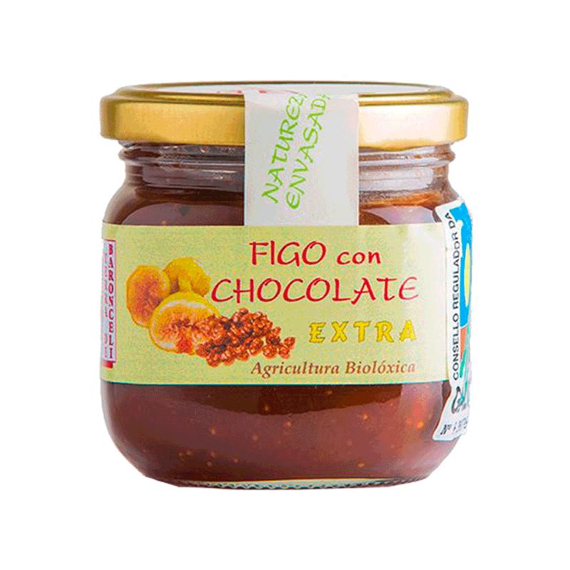 Mermelada de higo con chocolate ecológica 200g