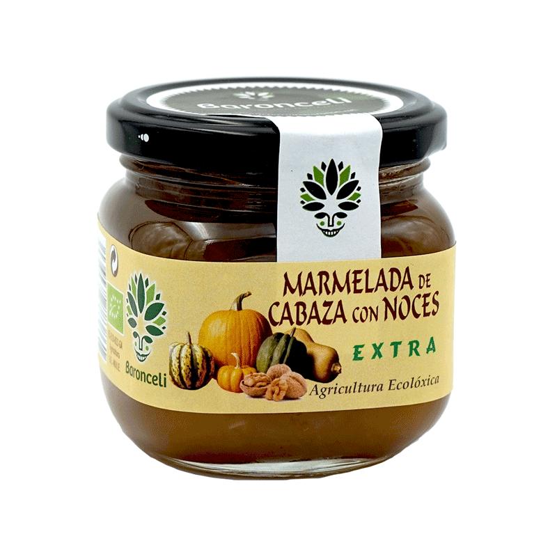 Mermelada de calabaza con nueces ecológica 200g