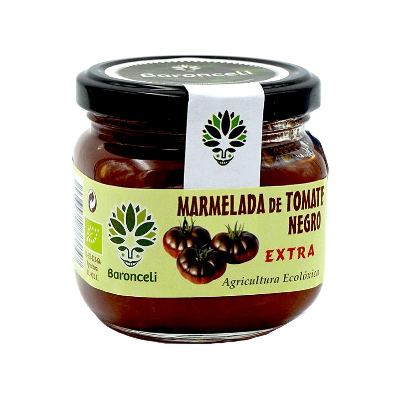 Mermelada de tomates negros ecológica 200g