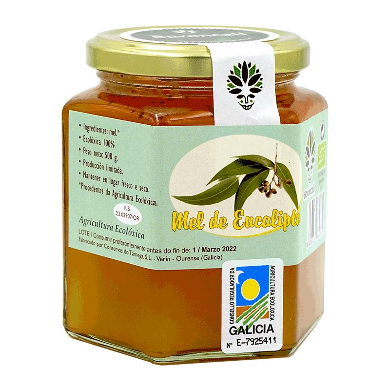 Miel eucalipto ecológica 500g