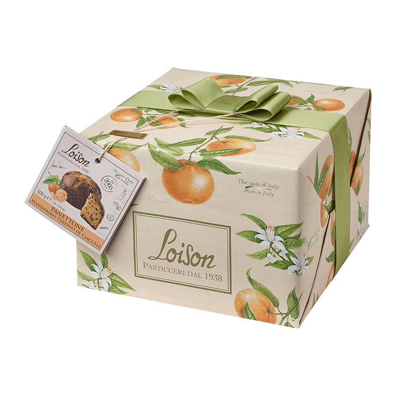 Panettone mandarino 'Frutta & Fiori' 500g