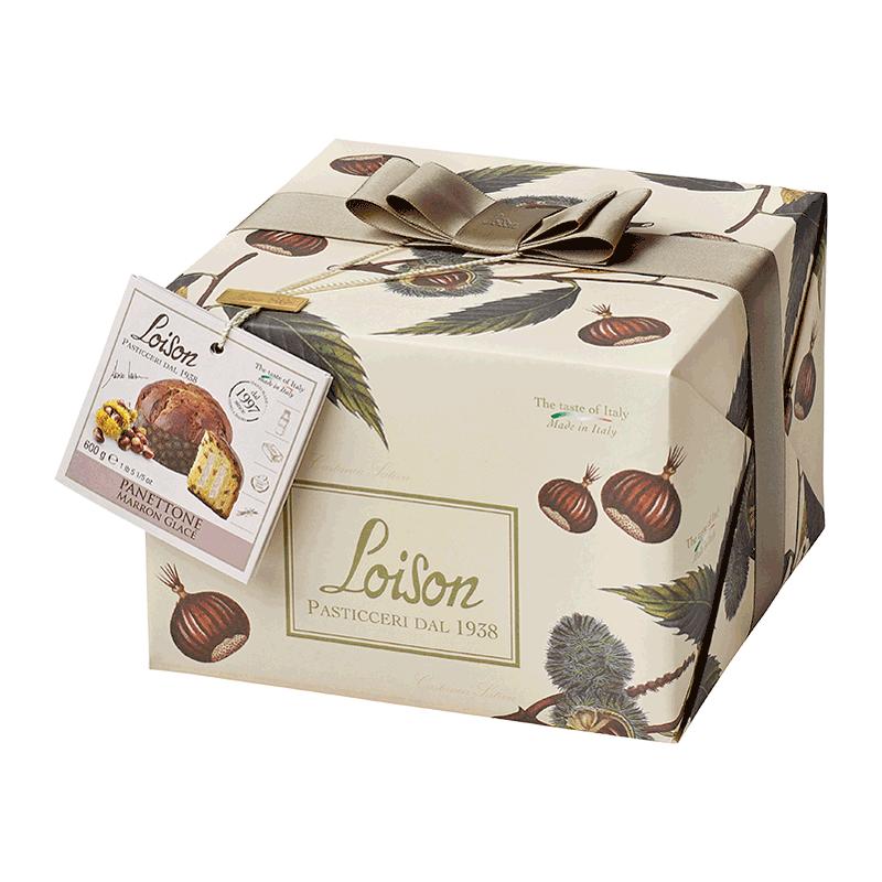 Panettone Marrón Glacé 'Frutta & Fiori' 600g