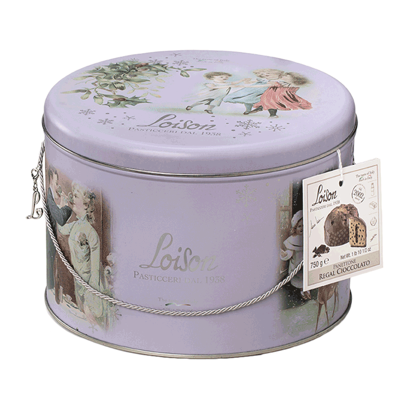 Lata panettone regal cioccolato 750g