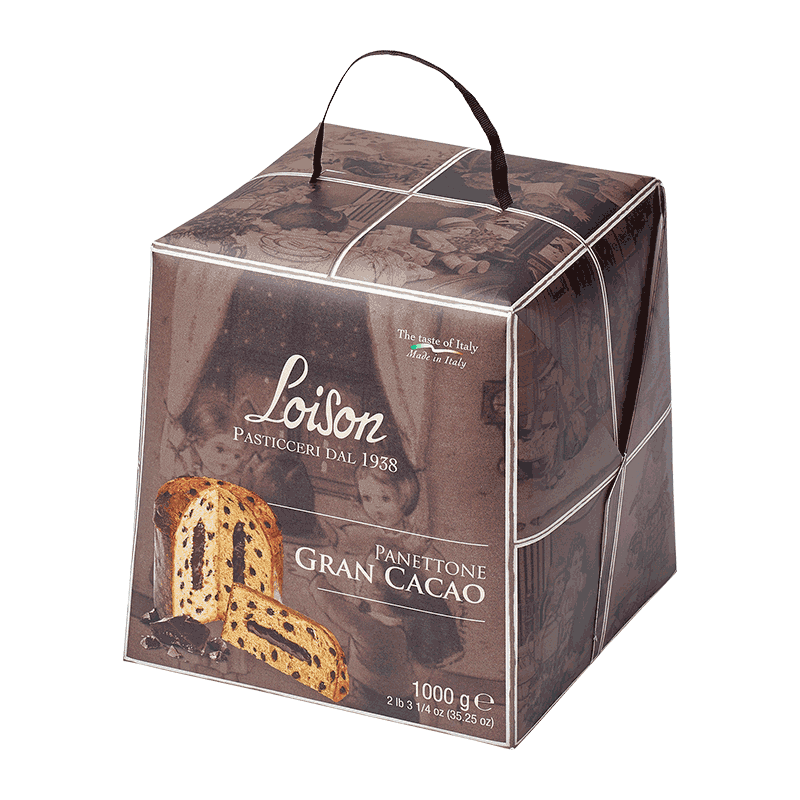 Panettone gran cacao 'Astucci' 1kg