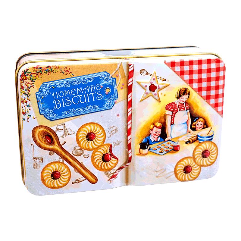 Lata bombones praliné leche 'Libro pastelería' 150g