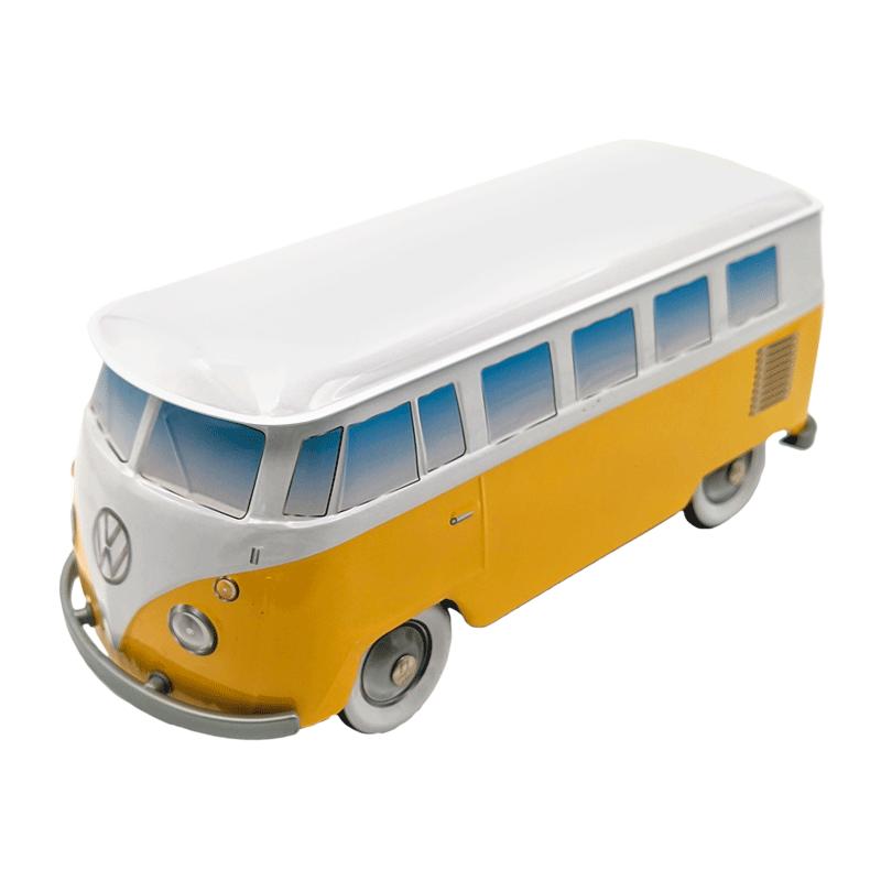 Lata bombones praliné leche 'Furgoneta Volkswagen amarilla' 150g