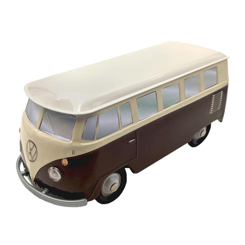 Lata bombones praliné leche 'Furgoneta Volkswagen marrón & beige' 150g