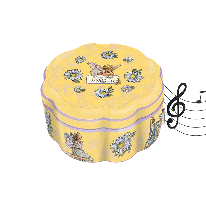 Lata bombones surtidos 'Fiore' musical 150g