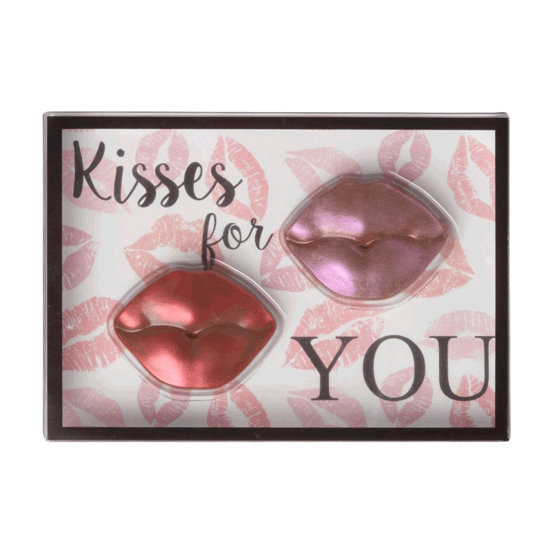 Kit chocolate con leche 'Kisses for you' 35g