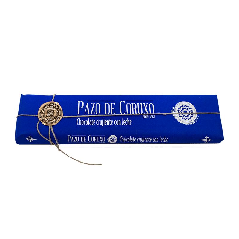 Chocolate artesano leche crujiente 300g