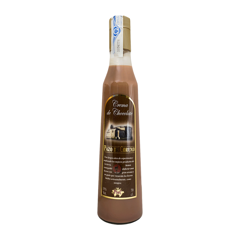 Crema de chocolate gallega 70cl