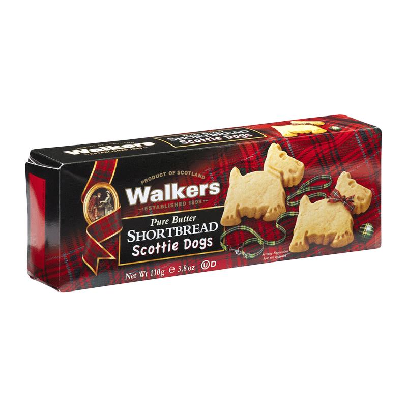 Caja galletas de mantequilla 'Shortbread Scottie Dogs' 110g