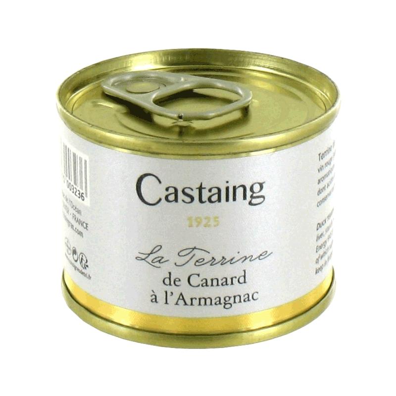 Terrina de pato al Armagnac 'Castaign' 67g