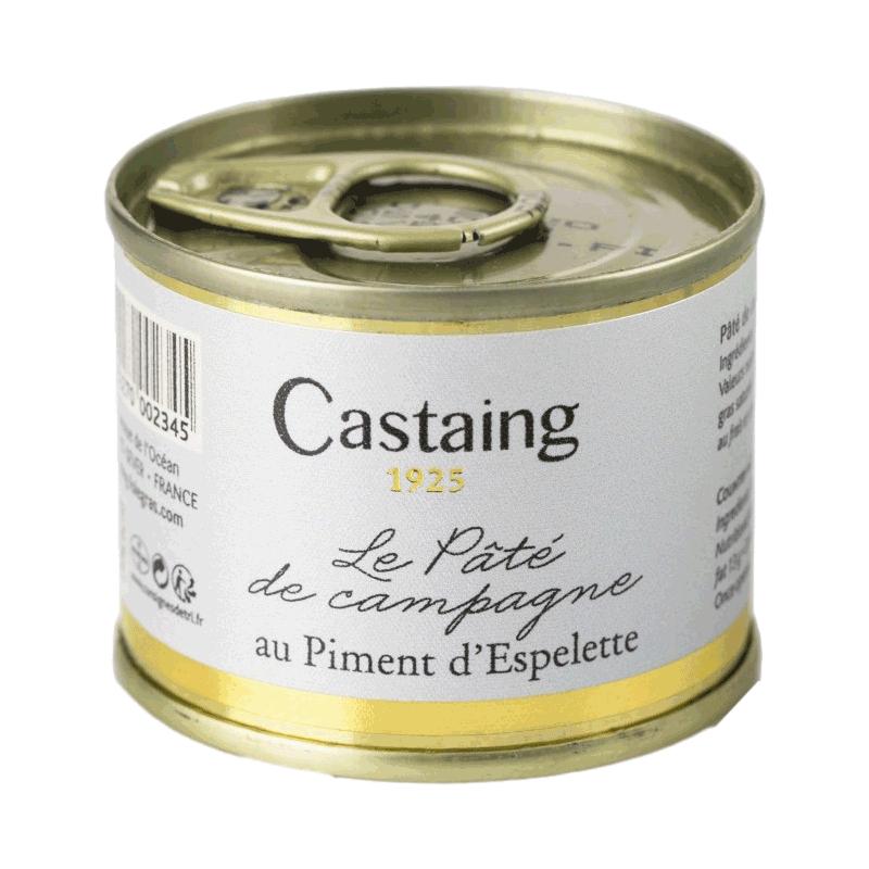 Paté de Campagne con pimienta de Espelette 'Castaign' 67g