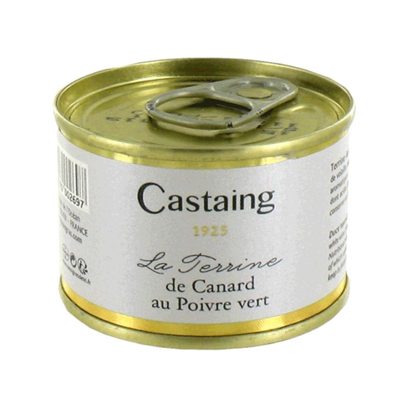Terrina de pato a la pimienta verde 'Castaign' 67g