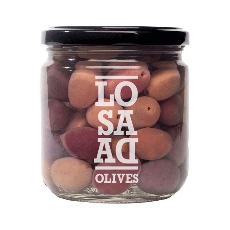 Cornicabra aceituna de Ciudad Real, fermentada natural en agua, sal y tomillo 345g