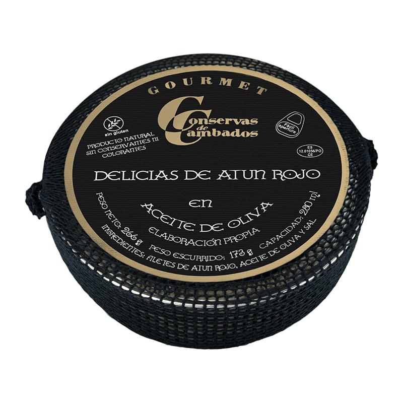 Delicias atún rojo en aceite olvia Rías Gallegas 266g