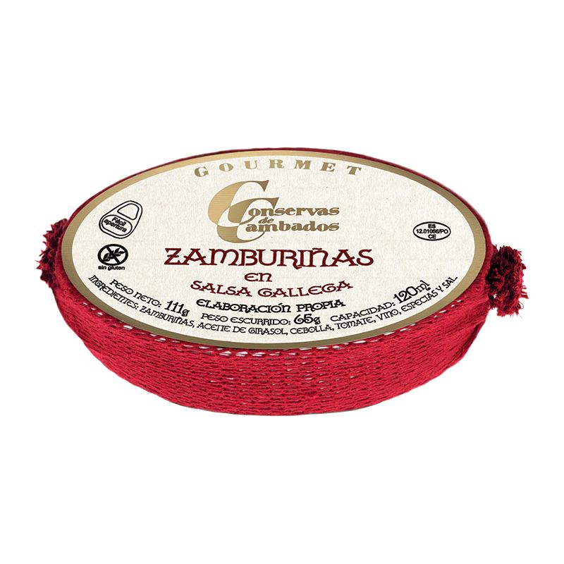Zamburiñas en salsa gallega 111g