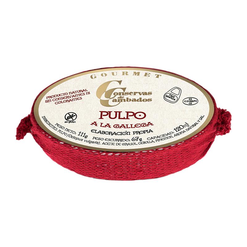 Pulpo en salsa gallega Rías Gallegas 111g