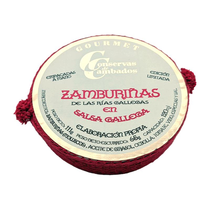 Zamburiñas en salsa gallega Edición Especial 120ml