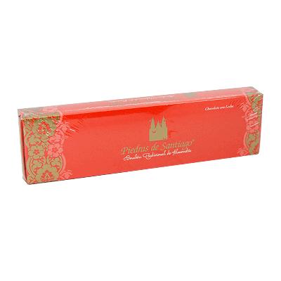 Caja bombones artesanos chocolate leche y almendra Marcona 200g