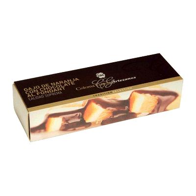 Estuche gajo de naranja con chocolate fondant artesano 200g