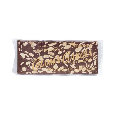 Estuche turrón chocolate con almendras artesano 'Classic' 200g