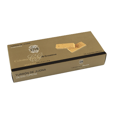 """Estuche turrón Oro Jijona artesano """"Gourmet"""" 300g"""