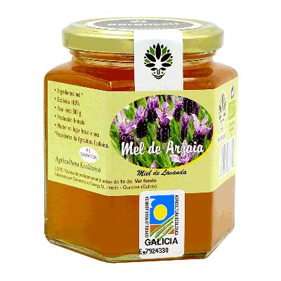 Miel de lavanda ecológica 500g