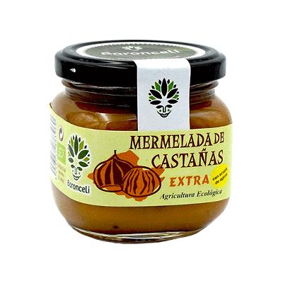 Mermelada de castaña sin azúcar ecológica 200g