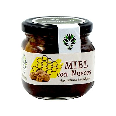 Miel con nueces ecológica 250g