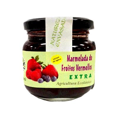 Mermelada frutos rojos sin azúcar ecológica 200g