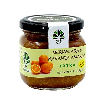 Mermelada de naranja sin azúcar ecológica 200g