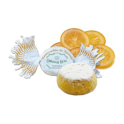 Caja mantecados artesanos de naranja confitada 2,5kg
