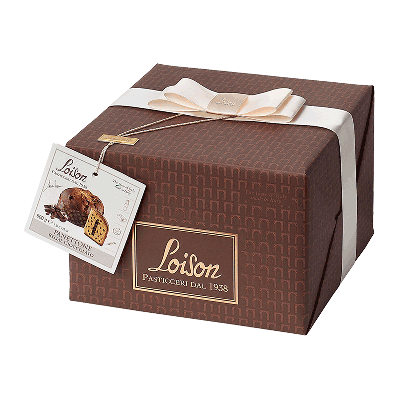 "Panettone regal cioccolato ""Genesi"" 600g"