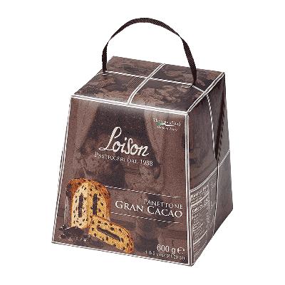 "Panettone gran cacao ""Astucci"" 600g"