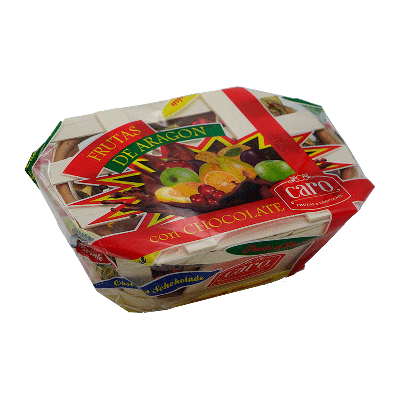 Banasta fruta de Aragón surtida 200g