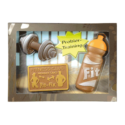 Kit chocolate con leche 'Fitness' 125g