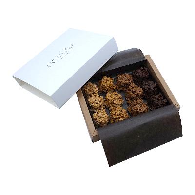 Rocas surtidas 4 chocolates Costiña 130g