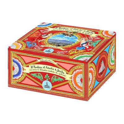 Lata panettone Dolce & Gabbana pistacho 500g + Tarro crema pistacho 100g