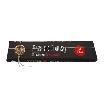 Chocolate artesano negro sin azúcar 300g