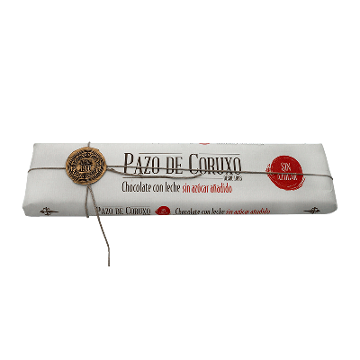 Chocolate artesano leche sin azúcar 300g