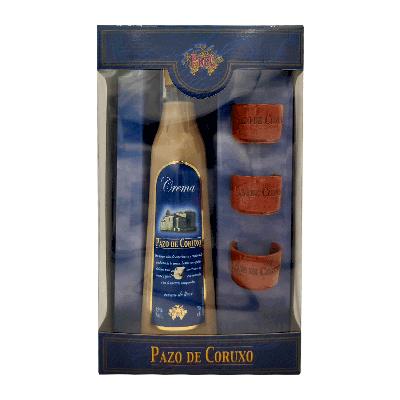 Estuche crema de licor gallega '3 Chupitos Barro' 70cl