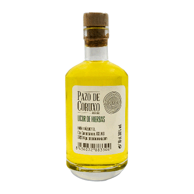 "Licor de hierbas gallego ""Pacho"" 10cl"