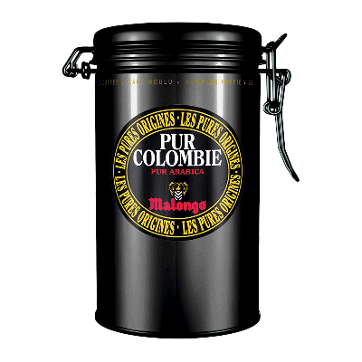 """Lata 100% café molido de la variedad Arábica """"Pur Colombie"""" 250g"""