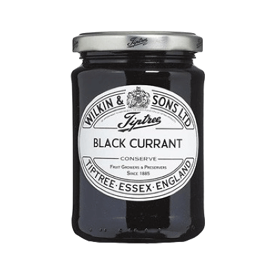 "Mermelada de grosella negra ""Black Currant"" 340g"