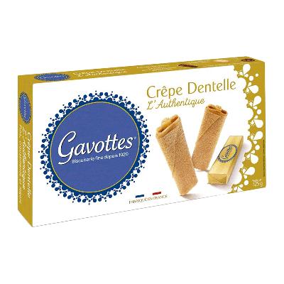 Caja crepes finos y crujientes 'Crêpe Dentelle L'Authentique' 125g