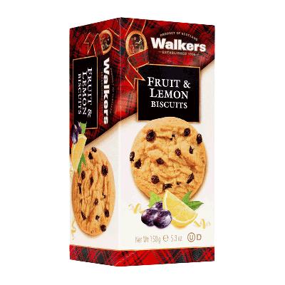 Caja cookies con frutas mediterráneas y limón 'Fruit & Lemon' 150g